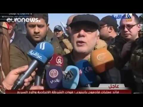 Iraqi PM Abadi visits Mosul amid major anti ISIL gains
