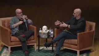 Mike Mignola in conversation with TyRuben Ellingson at Virginia Commonwealth University