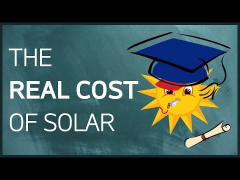 The Real Cost Of Solar