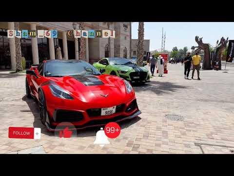 Mobil mewah dan super cepat di dubai..Pameran faster Car #Bollywood park #Legoland park #Riverland .