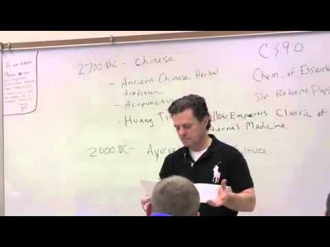 Lecture 1   The Chemistry of Essential Oils Intro and A Brief History of Aromatics