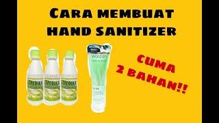 Cara membuat hand sanitizer | aloevera ...