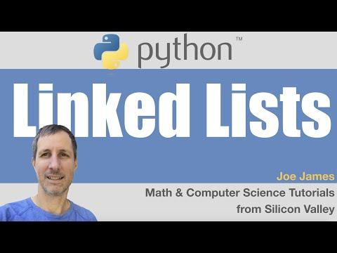 Python: Linked Lists