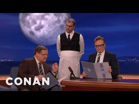The Waiter Who Doesn't Write Anything Down Is Back  - CONAN on TBS