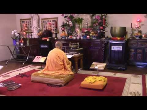 Chua Phuoc Hue (San Antonio Buddhist Temple) English Buddhist Chanting Service