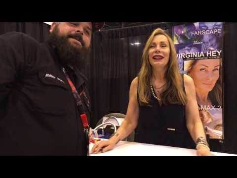 Virginia Hey (Farscape) interview at Space City Comic Con 2016