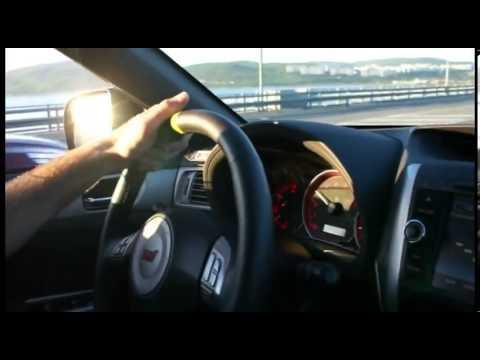 BMW M5 E60 vs SUBARU WRX STI
