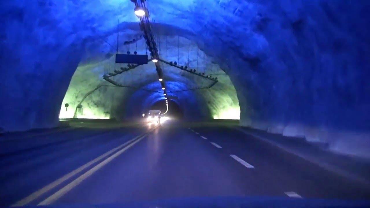 Lærdalstunnelen World S Longest Tunnel Youtube