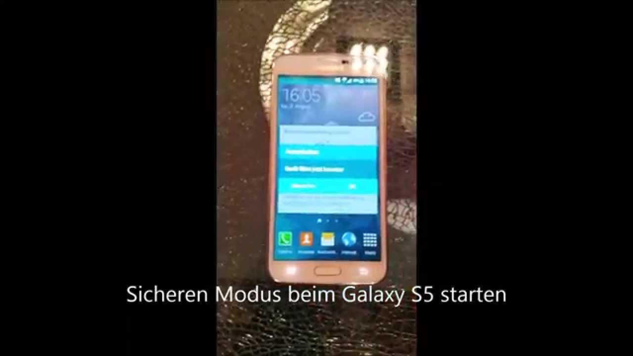 android sicherer modus