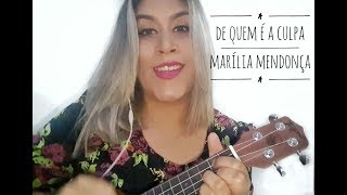 Video DE QUEM É A CULPA - MARÍLIA MENDONÇA   COVER VIVIANE FARIA download MP3, 3GP, MP4, WEBM, AVI, FLV September 2018