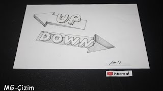 Drawing arrows (up-down)