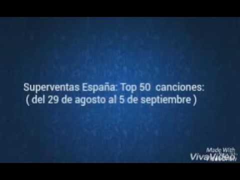Top 50 canciones Superventas españa