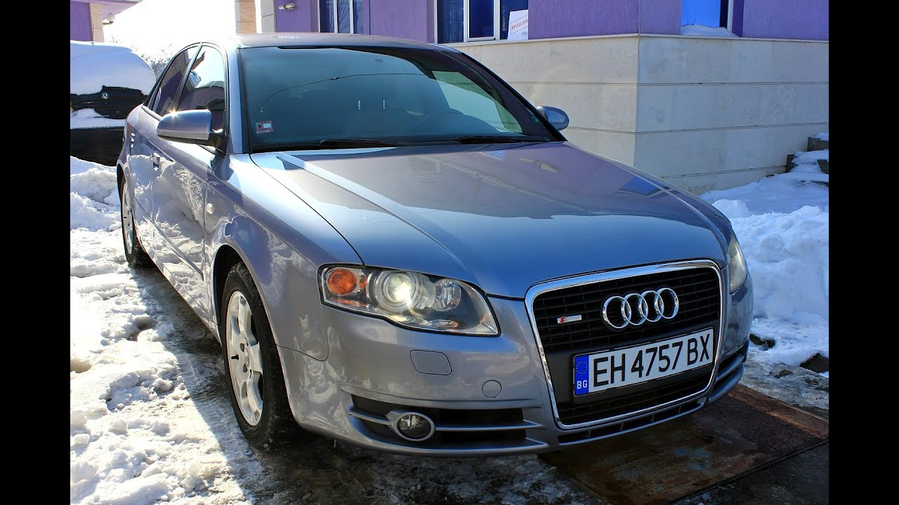 Audi A4 3 0tdi 204hp 2005 B7 S Line Reviews Hd Youtube
