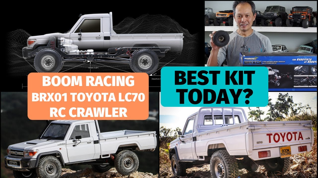 Boom Racing BRX01 with Toyota LC70 body - Best scale crawler kit today?