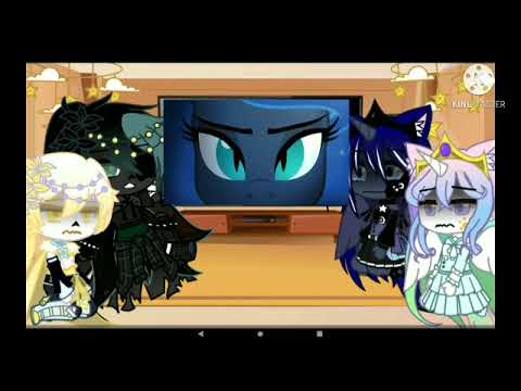 || ✨Dreamtale Brothers And Celestia And Luna Reacts To Eachother ✨||