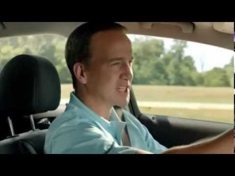Car Brands Starting With T >> Peyton Manning Car Commercial - YouTube