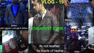 PALIKA BAZAR | DELHI[exploring- blazers,tshirts,gshock,shoes,jeans,leather] gaurav sharma|vlog-19