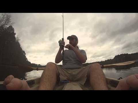 Kayak Fishing Evans County (GA) PFA