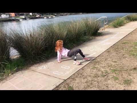 Y Gymnastics - KinderGym - Footpath Chalk Activity