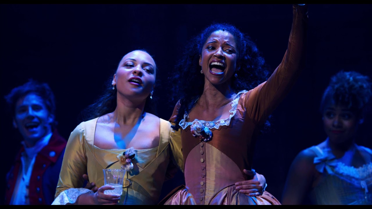 Satisfied - Renée Elise Goldsberry and the cast of Hamilton