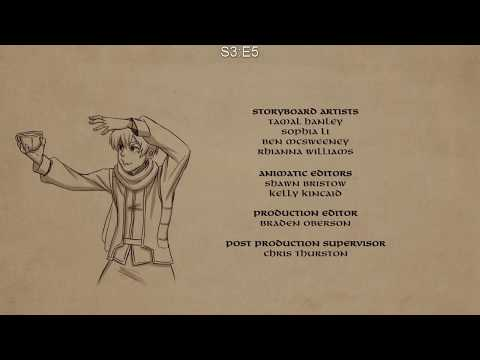 The Dragon Prince Season 1-3 End Credits