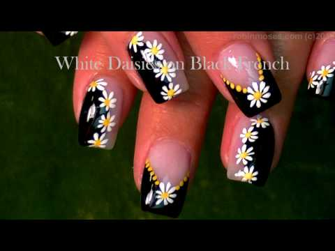 Black and White Nail Art Design Tutorial