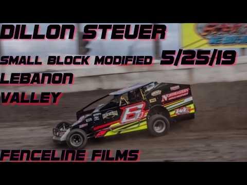 Dillon Steuer Lebanon Valley Small Block Modified Feature 5/25/19