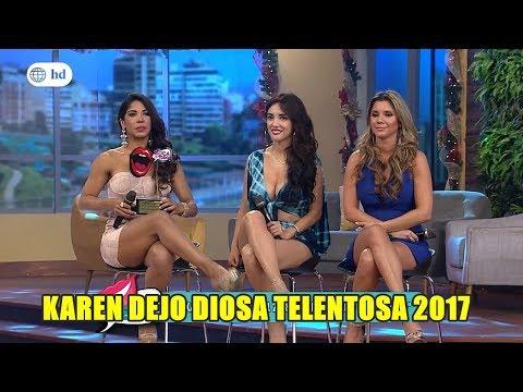 Karen Dejo Diosa talentosa 2017-Piegrandevideoshd