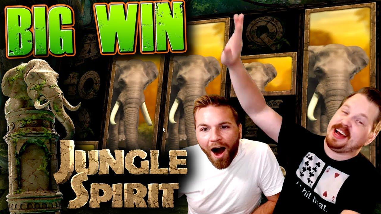 Big Win in Jungle Spirit: Call of the Wild