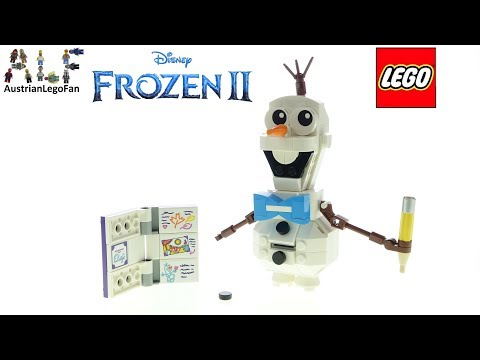 LEGO Frozen 2 41169 Olaf - Lego Speed Build Review