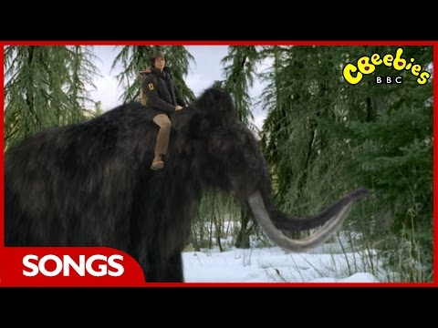 CBeebies | Andy's Prehistoric Adventures | Woolly Mammoth Rap