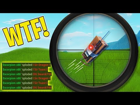 5,000,000 IQ WIN USING THE NEW C4!! (0.0001% CHANCE)   Fortnite Daily Funny and WTF Moments Ep. 117