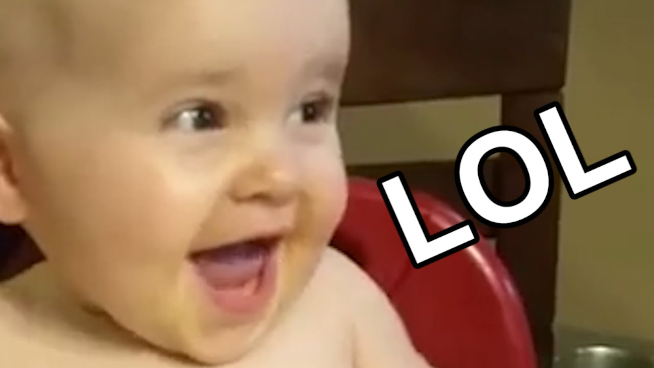 This baby has the most evil laugh in the world - YouTube