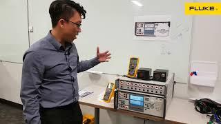 Máy hiệu chuẩn điện đa năng Fluke 5322A chính xác cao