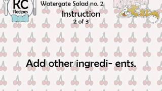 Watergate Salad No. 2 - Kitchen Cat