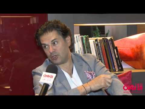 Interview with Super Star Ragheb Alama In Abu Dhabi/ AnaZahra.com