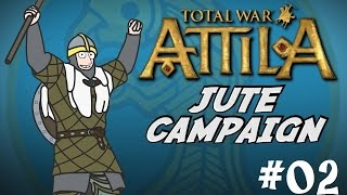 Total War: Attila Gameplay - Viking Forefathers - The Jutes Campaign - Part Two - Consolidation!