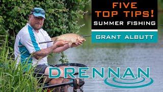 Five Tips For Summer | Grant Albutt | Match Fishing