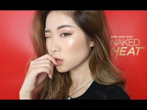 URBAN DECAY NAKED HEAT PALETTE TUTORIAL   ASIAN MONOLID