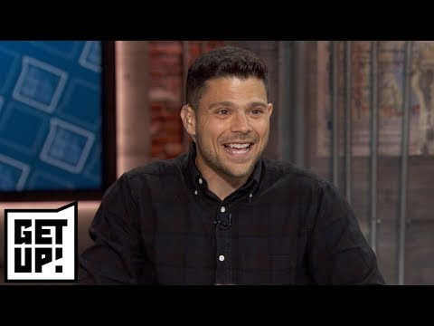 Jerry Ferrara  on Kawhi to Raptors, New York Knicks and Mike Trout  Get Up!  ESPN