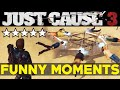 YouTube Turbo Just Cause 3: Funny Moments EP.1 (JC3 Epic Moments Funtage Montage Gameplay)