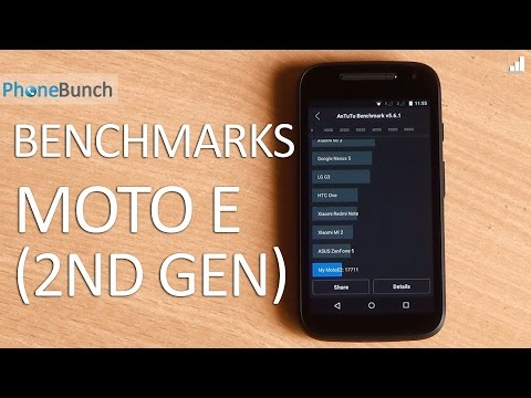 Moto E (2nd Gen) 2015 Benchmarks, Moving Apps to SD and USB OTG Support
