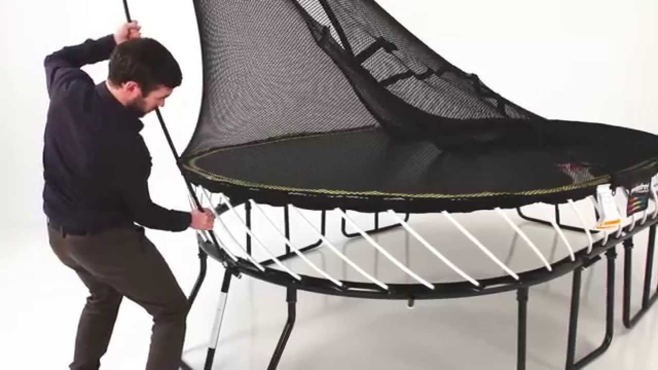 Springfree Trampoline Installation Overview Youtube