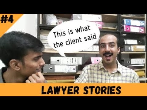 Lighter moments in Court   Lawyer Stories Ep. 04  