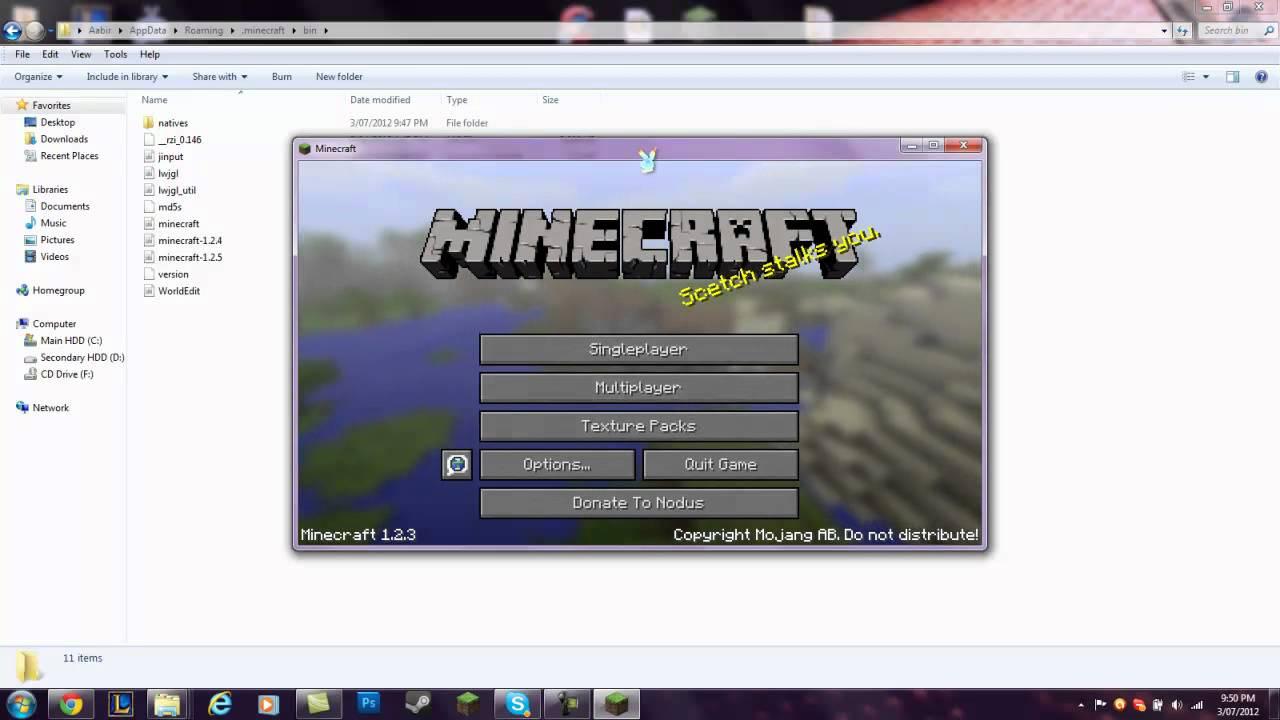 nodus hack minecraft 1.2.5