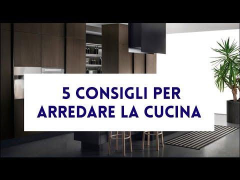 5 consigli per arredare la cucina