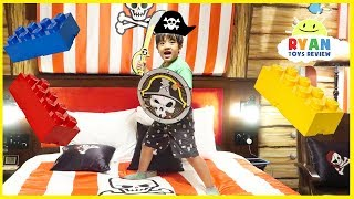Legoland Hotel Pirate Room Tour Kids Amusement Park!!!!