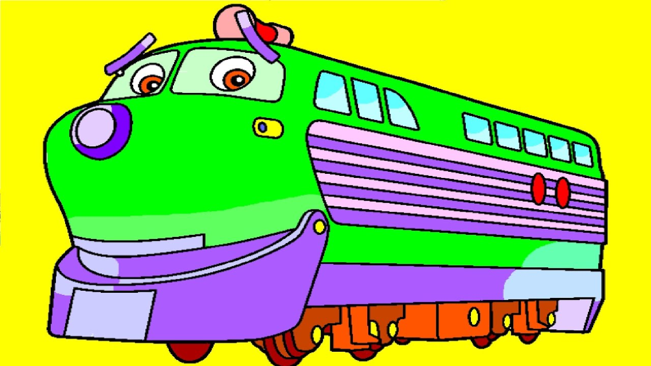 Coloring Pictures For Kids | Chuggington Coloring Pages ...