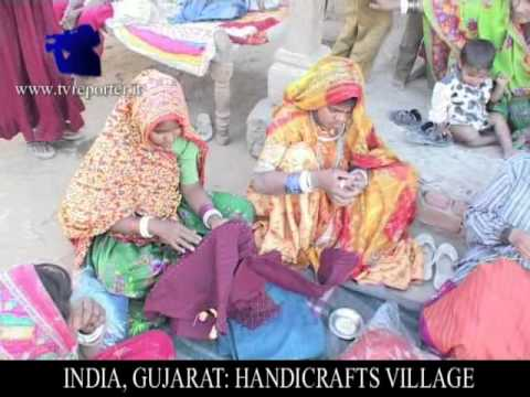India Gujarat Handicrafts Village Youtube