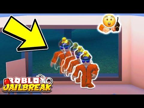 New Insane Jailbreak Noclip Glitch Glitches Through Any Wall Or